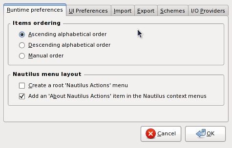 docs/nact/C/figures/nact-preferences-runtime.png