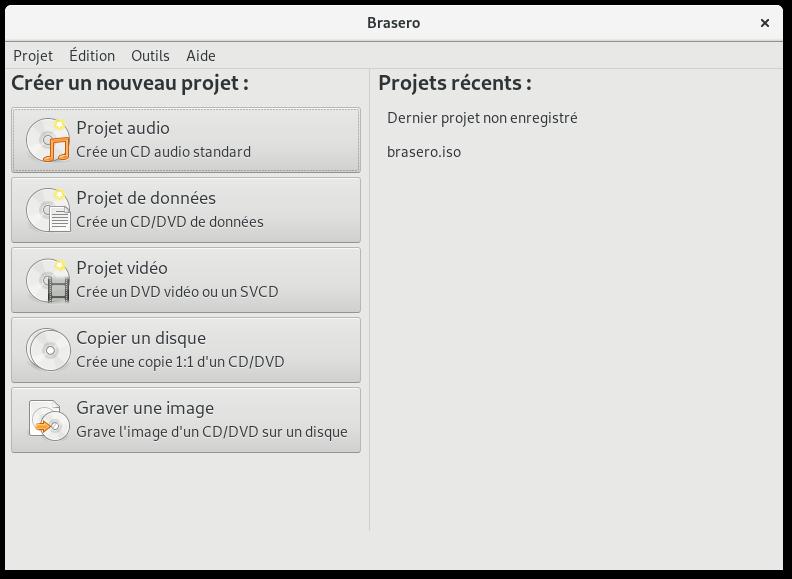 help/fr/figures/brasero-main-window-fr.png